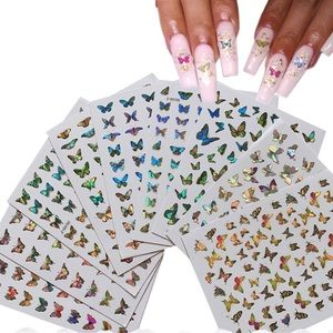 Holographic Nail Stickers